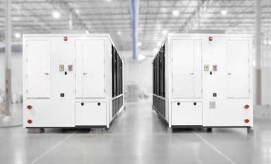 modular data center infrastructure - separated